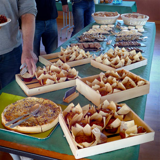 buffet froid pour entreprise vers Rovaltain Valence
